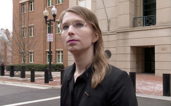 BREAKING NEWS: Whistleblower Chelsea Manning Ordered Immediately Released From Jail