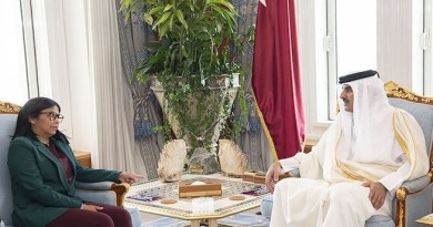 Vice President Delcy Rodriguez Held Fruitful Meeting with Emir of Qatar