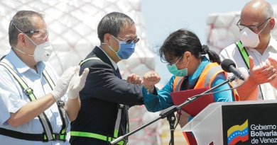 Venezuela: New Humanitarian Aid from China Arrives to Fight Covid-19