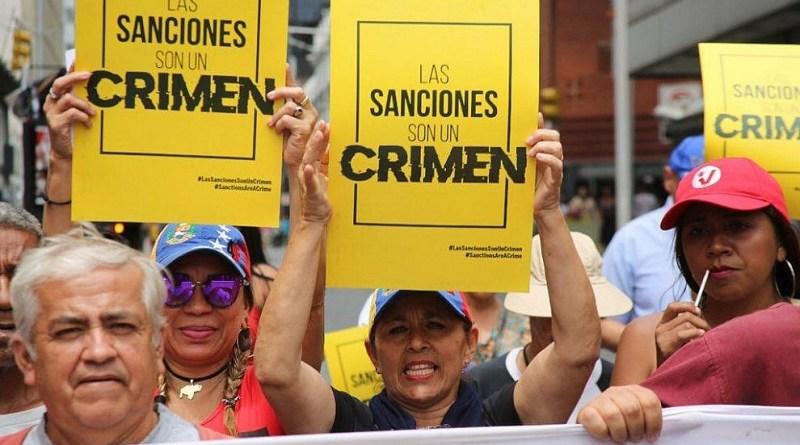 Sanctions - Unilateral Coercive Measures for Regime Change in Venezuela