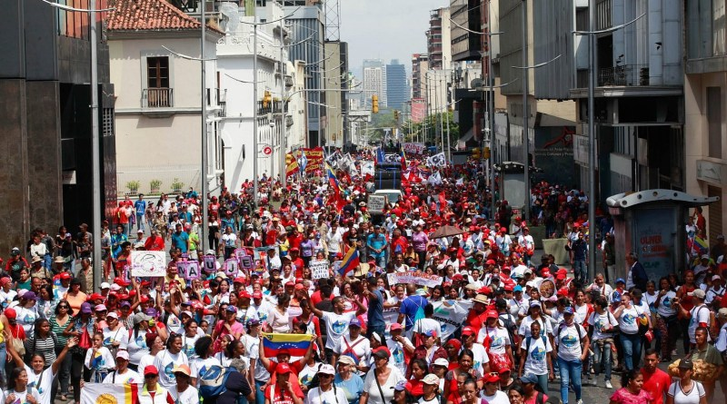 Venezuela: International Women's Day  March in Photos
