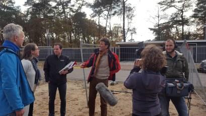 Nederland Verhuist aan het filmen