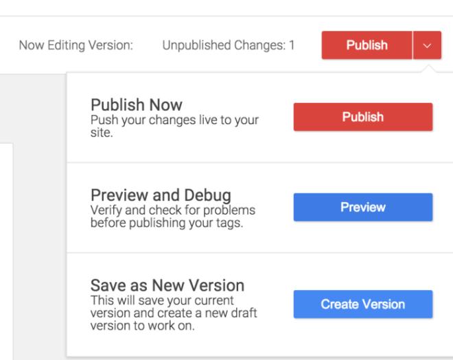 Vista previa con Google Tag Manager