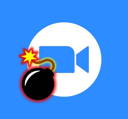 Icon for zoom bombing article
