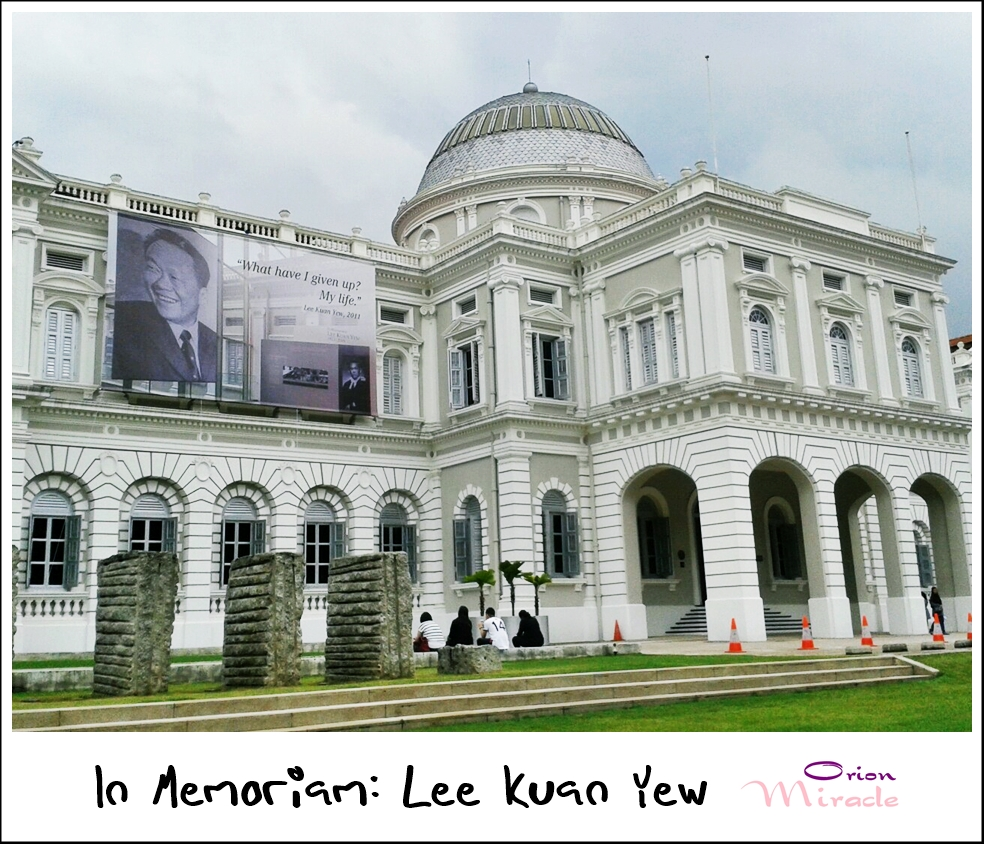 In Memoriam: Lee Kuan Yew