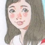 【女の子イラスト】小さい天使の羽根の女の子2