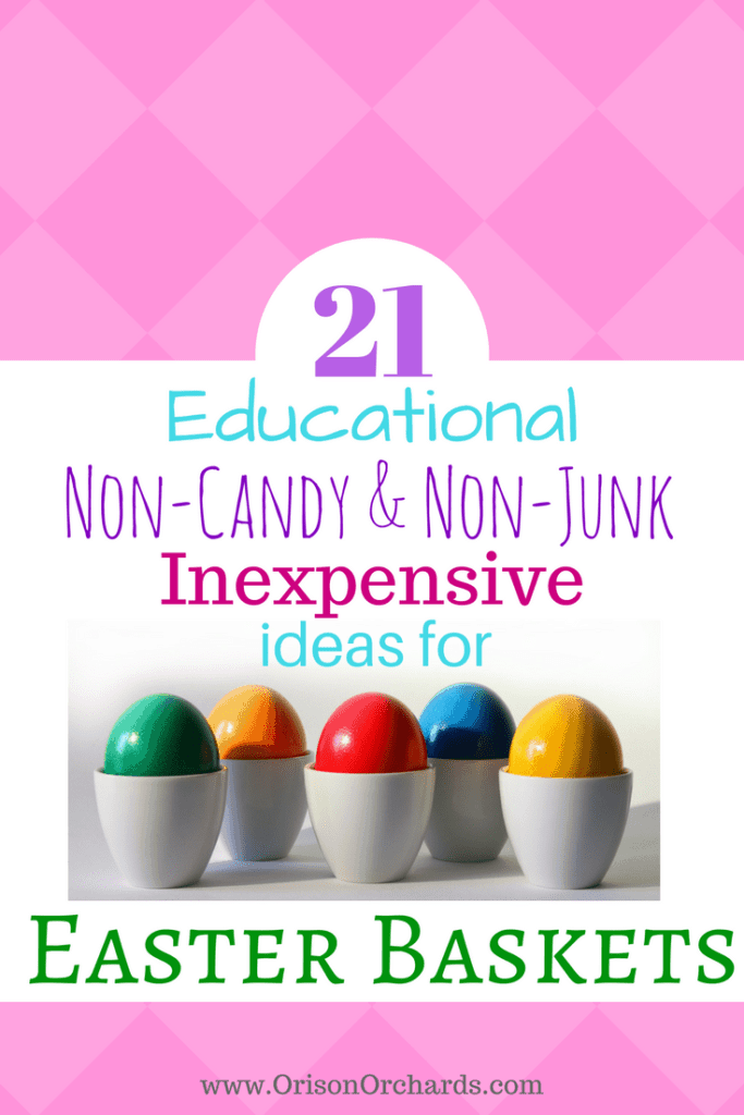 21 fun educational inexpensive non candy easter basket ideas 21 fun educational inexpensive non candy easter basket ideas negle Choice Image
