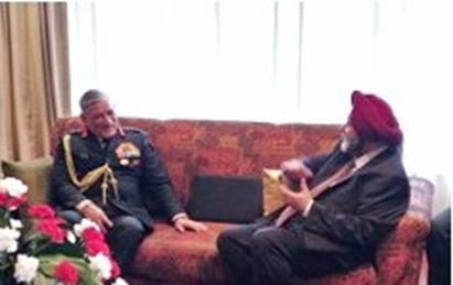 Gen Rawat conferred honourary general title of Nepal Army