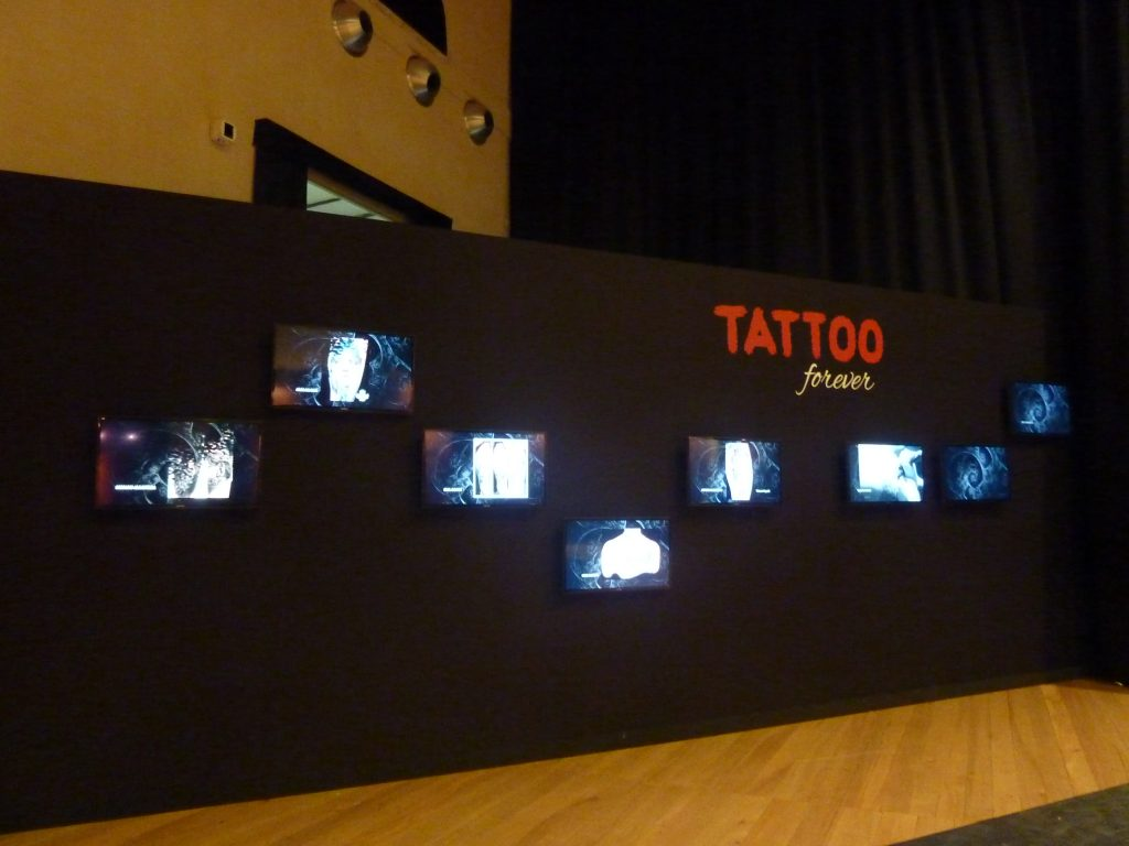 Tatuaggio, proiezioni Tattoo Forever