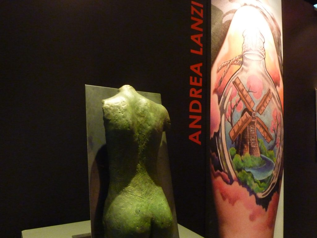 Tatuaggio, Manzo Lanzi, tattoo forever mostra roma