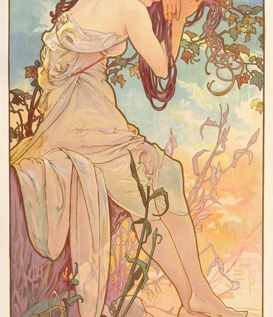 Alphonse Mucha, Seasons Summer