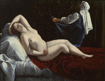 Danae di Artemisia Gentileschi