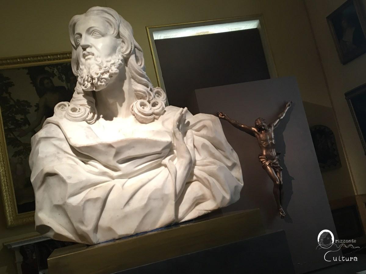 Gian Lorenzo Bernini, Busto del Salvator Mundi e Cristo Crocifisso - Galleria Borghese - Orizzonte Cultura