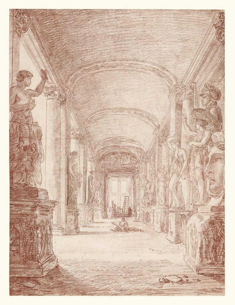 Hubert Robert mostra Winckelmann