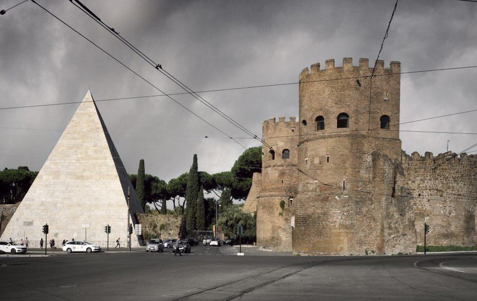 Porta San Paolo Walls