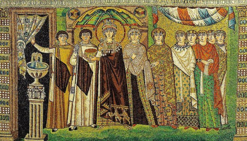Imperatrice Teodora moglie Giustiniano