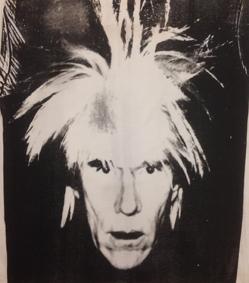 Andy Warhol Self Portrait, 1986 Serigrafia su cotone (t-shirt), 70x60 cm Collezione privata, Monaco (MC) © The Andy Warhol Foundation for the Visual Arts Inc. by SIAE 2018 per A. Warhol
