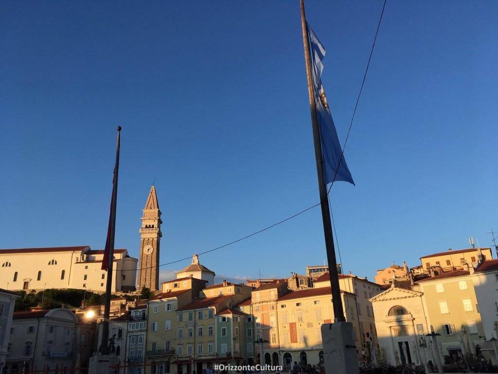 Il campanile della Cattedrale di San Giorgio - Orizzonte Cultura (ph. Ilenia M. Melis) Cosa vedere a Pirano