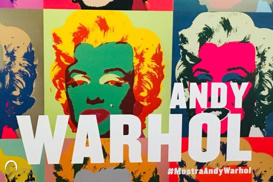 mostra Andy Warhol Pop Art