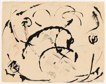 Jackson Pollock (1912-1956), Untitled, c. 1950