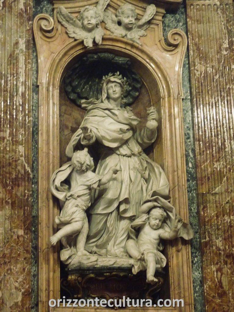 Le Virtù, Cappella del Monte di Pietà