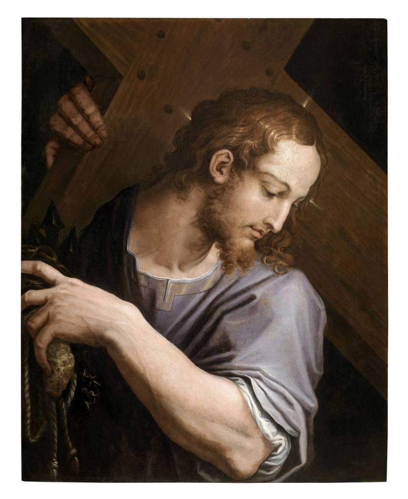 Vasari, Cristo portacroce dettaglio