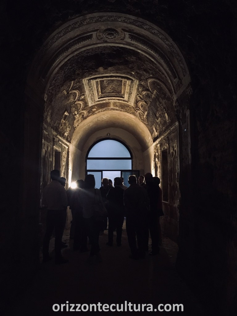 Villa Giulia nascosta, Neviera ingresso