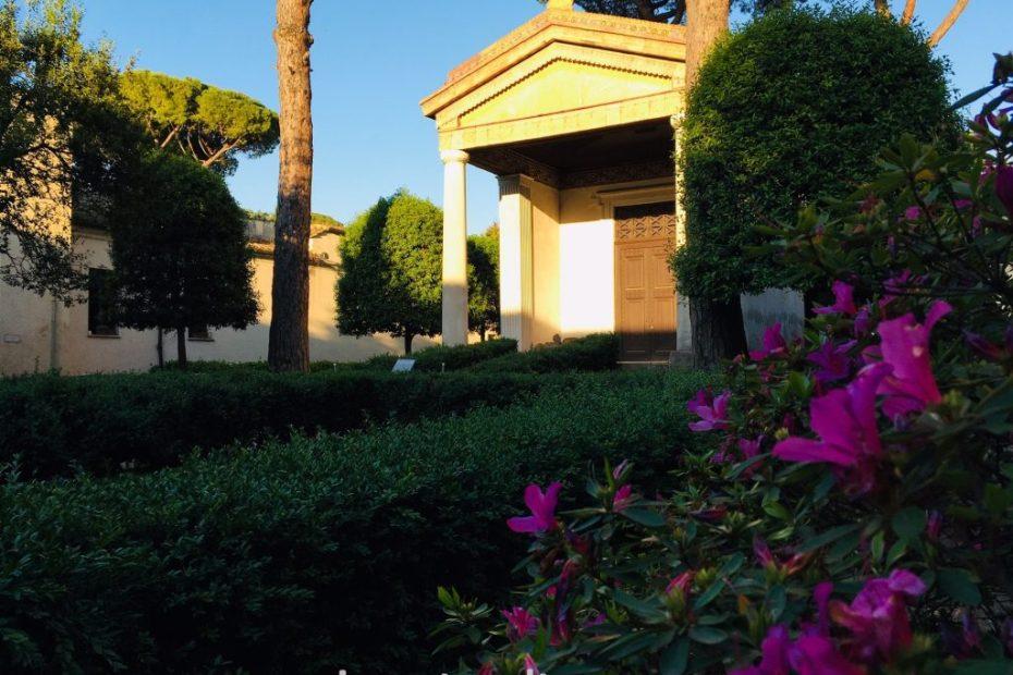 Villa Giulia nascosta, Tempietto etrusco