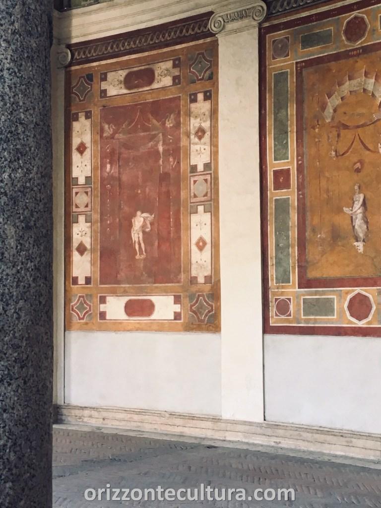 Villa Giulia nascosta, affreschi