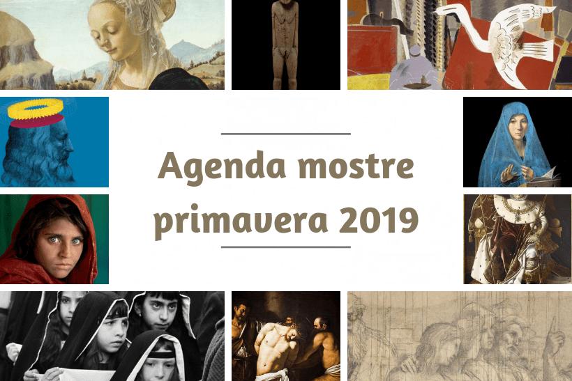 Agenda mostre primavera 2019