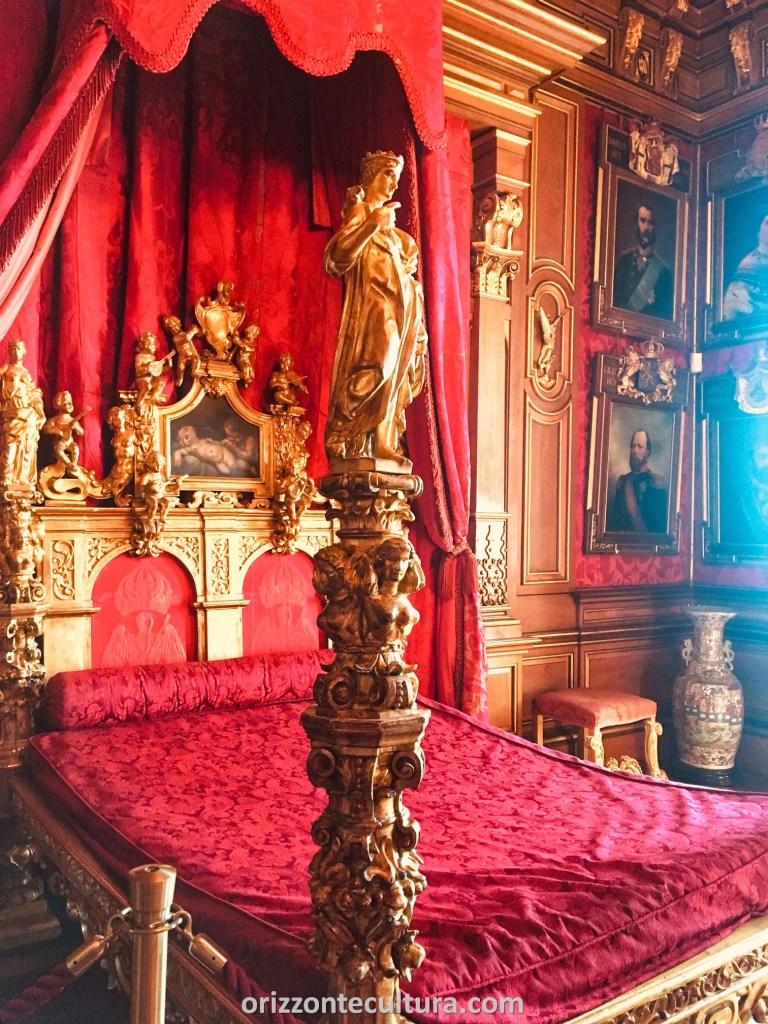 Castello Miramare Trieste letto ospiti