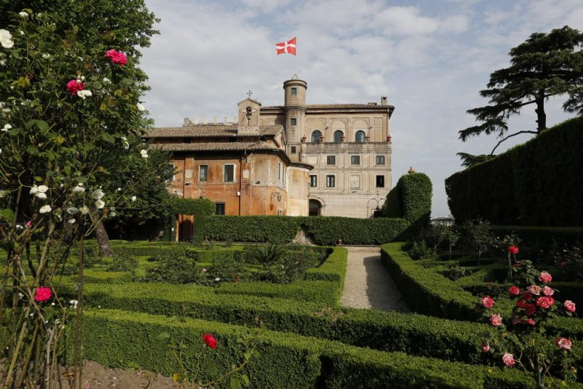Piranesi Santa Maria in Aventino Villa