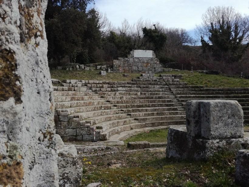 Parco Archeologico Tuscolo scorcio teatro