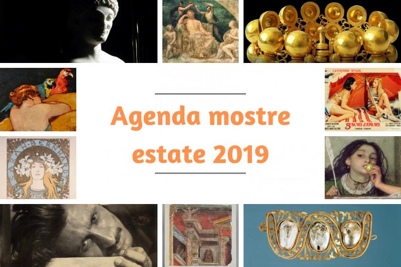 Agenda mostre estate 2019