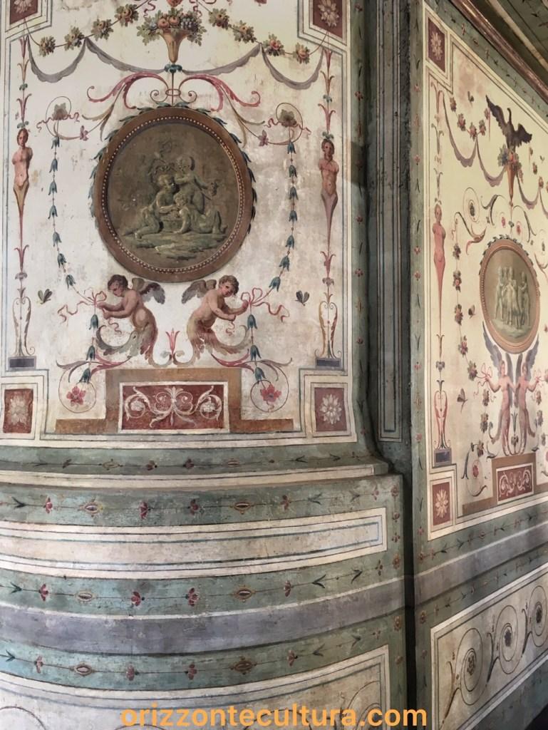 Decorazione balconcino Maria Letizia Ramolino, ph. Orizzonte Cultura