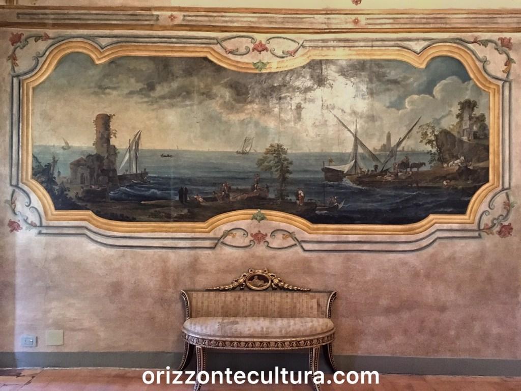 Fumoir appartemento Costanza Barberini