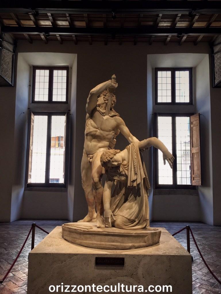Galata suicida, Palazzo Altemps
