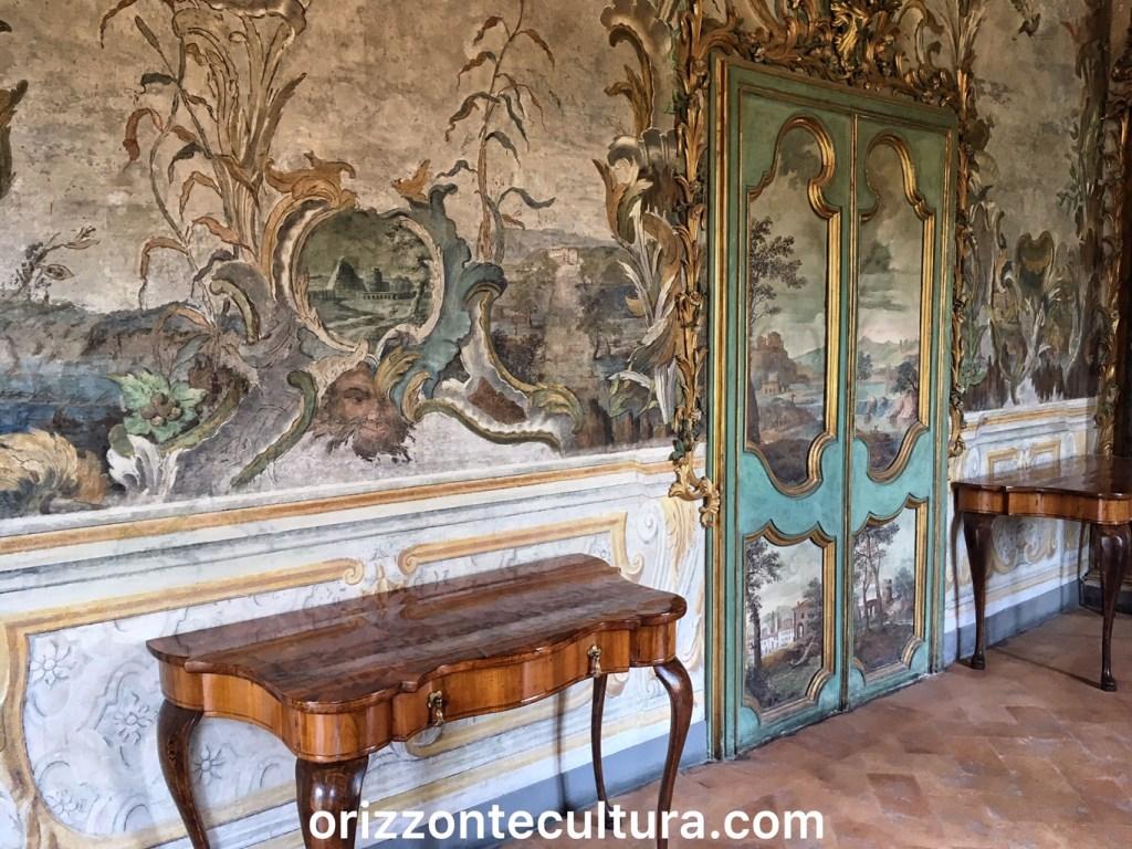 Loggia appartemento Settecento Costanza Barberini