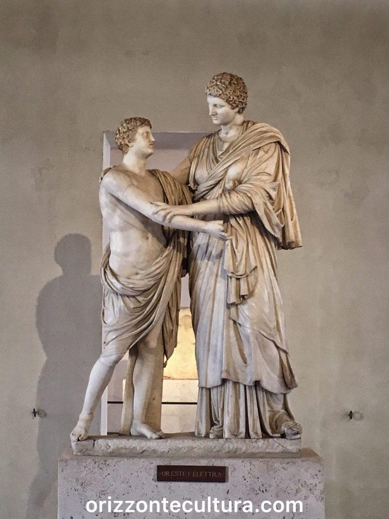 Oreste ed Elettra, Palazzo Altemps