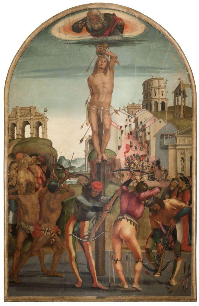 Luca Signorelli, Martirio di san Sebastiano