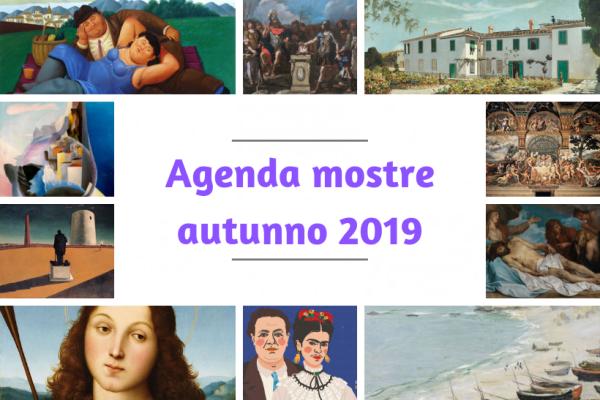 agenda mostre autunno 2019