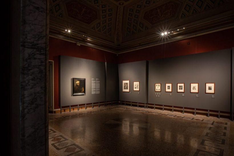 autoritratto Rembrandt mostra Galleria Borghese