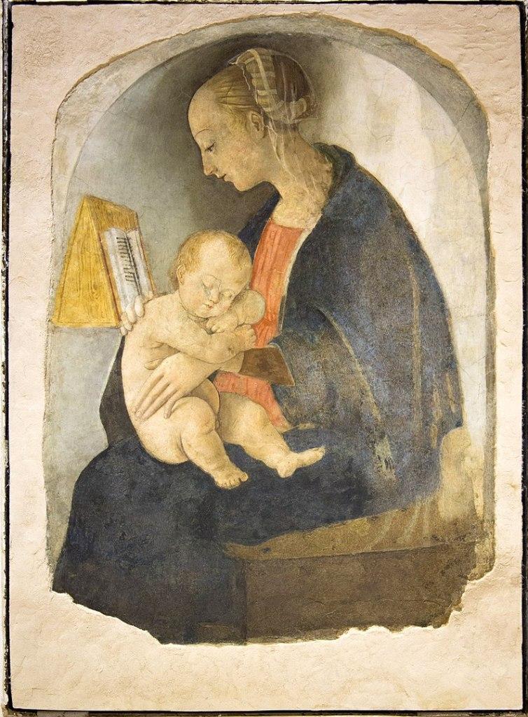 Madonna con Bambino, Casa natale di Raffaello Sanzio Urbino