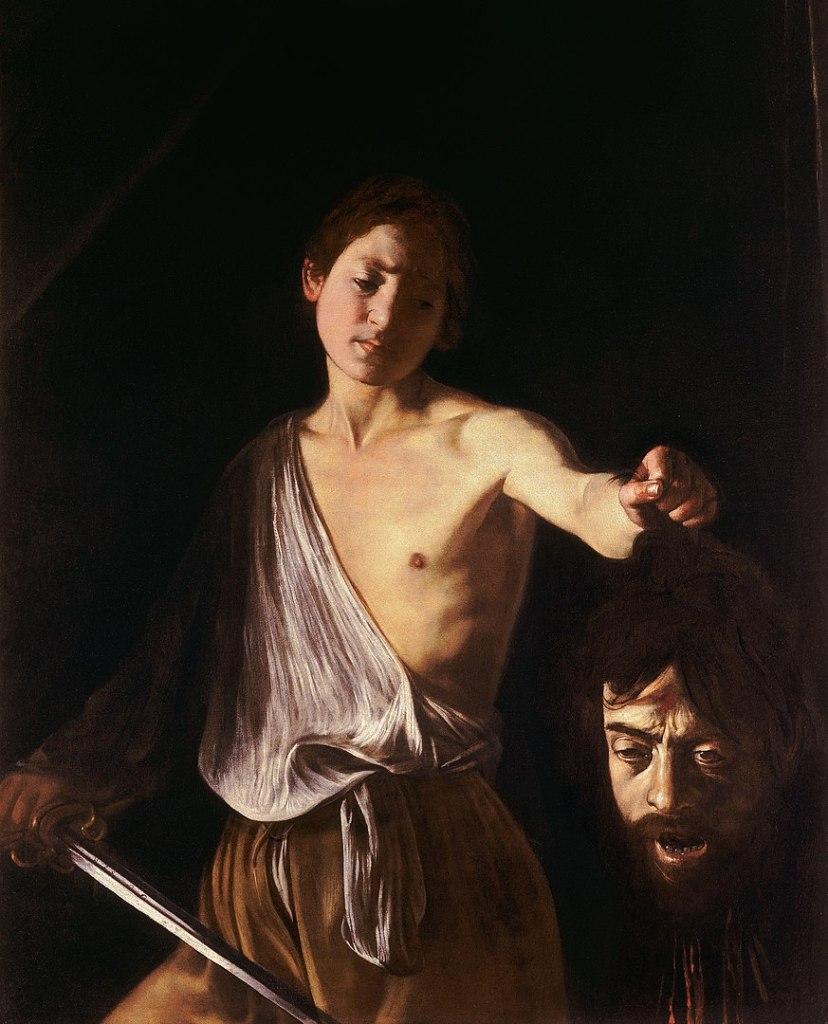 Caravaggio, Davide con la testa di Golia, Galleria Borghese