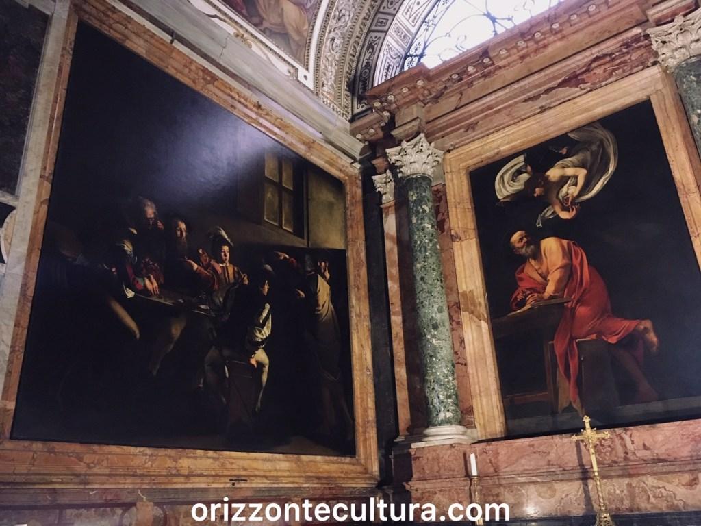 Caravaggio, San Luigi dei Francesi, Caravaggio Roma itinerario opere