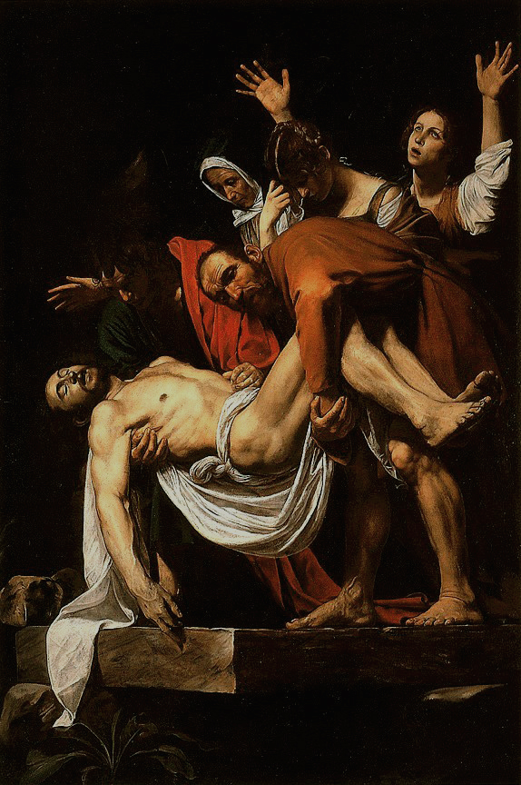 Caravaggio, Deposizione di Cristo, Musei Vaticani