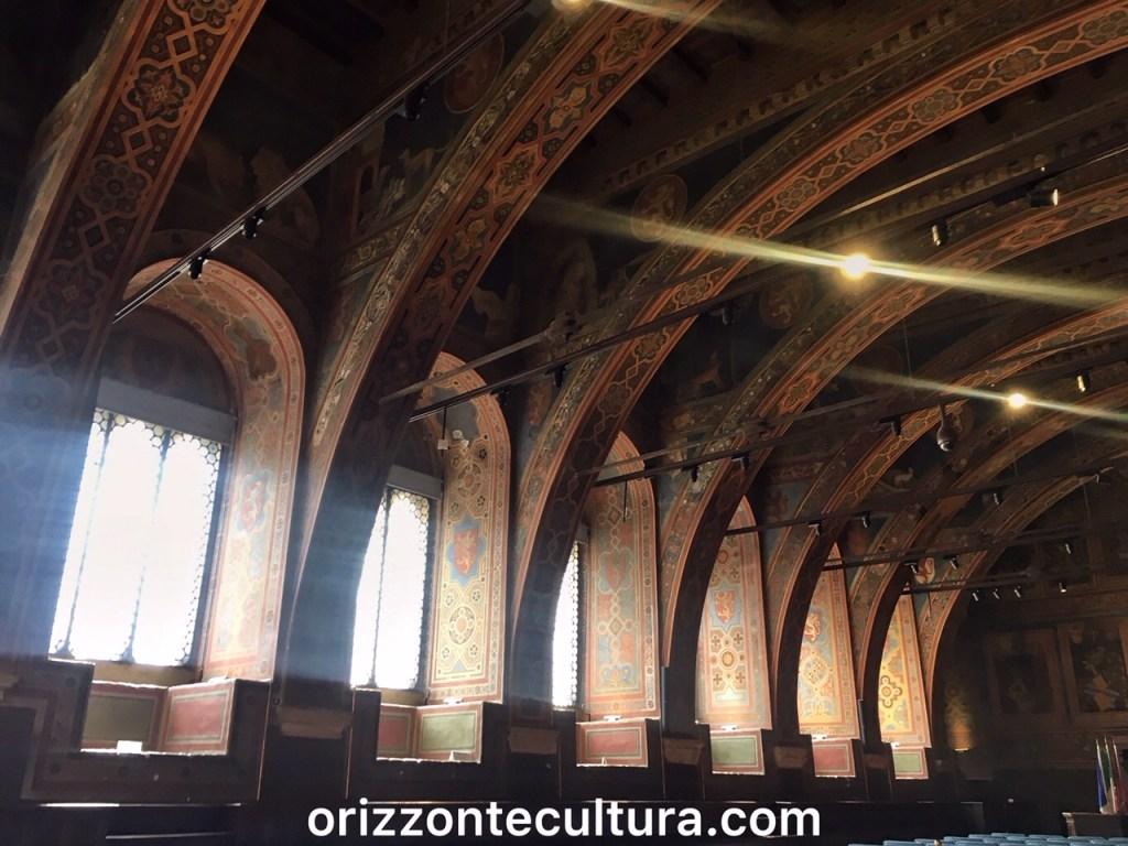 Interno del Palazzo dei Priori di Perugia, Visitare Perugia in 1 giorno