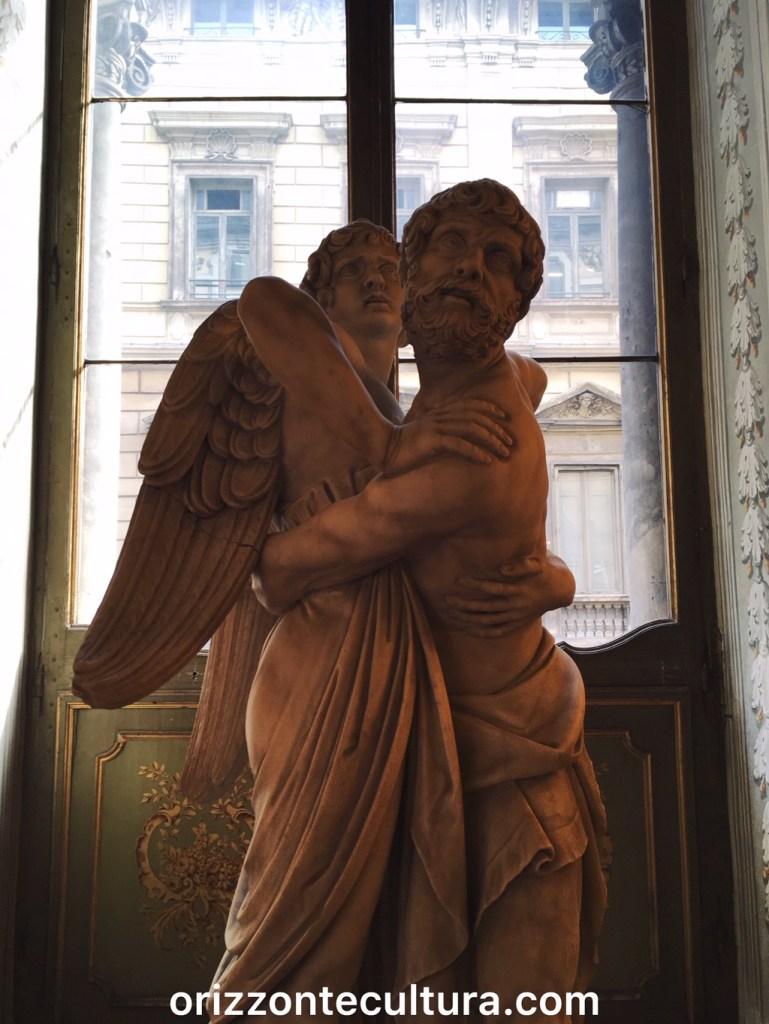 Dettaglio statua Sala degli Specchi,