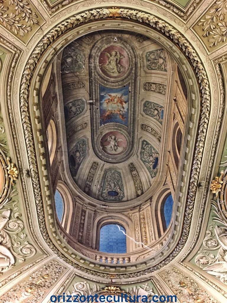 Finta cupola Cappella privata Palazzo Doria Pamphilj Roma