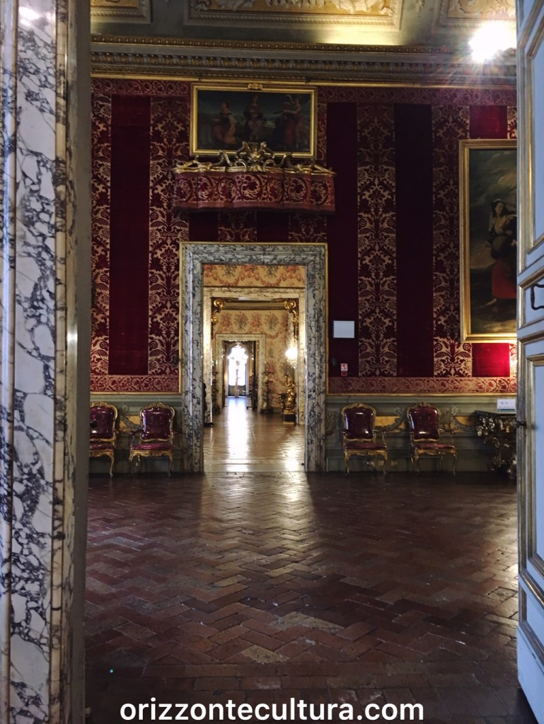 Sala dei Velluti, passeggiate romane Galleria Doria Pamphilj